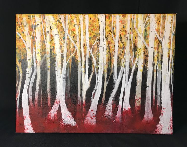 Fall Forest 18x24 - Artwork of BPullen