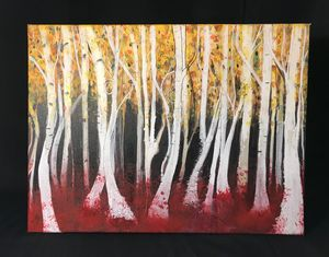 Fall Forest 18x24