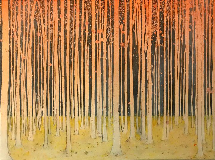 Fall Forest - Artwork of BPullen