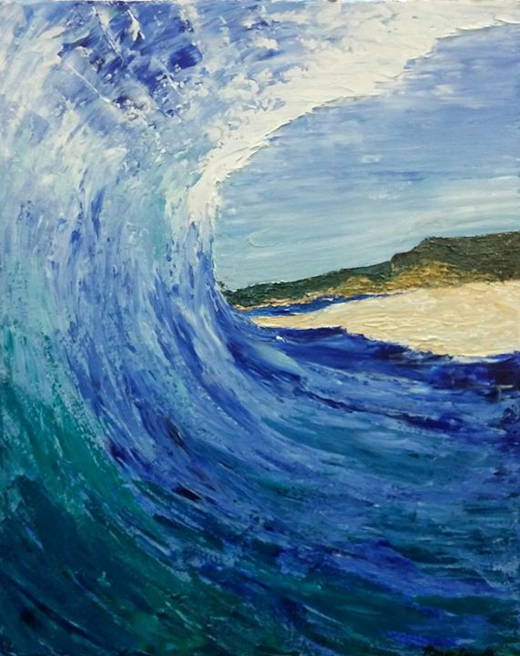 Wave - Morgan Carroll Art