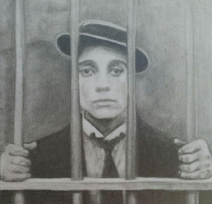 Buster Keaton - Morgan Carroll Art