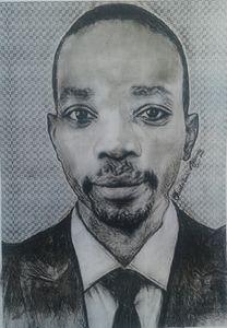 Self Portrait By Olusola Ayibiowu