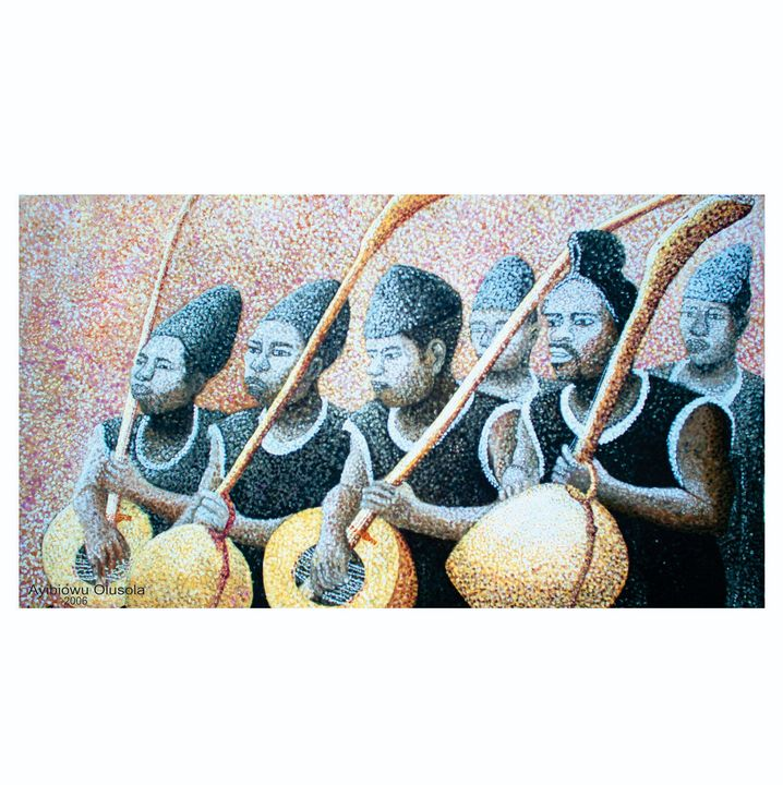 Gongola Traditional Musician - International Gallery Creative Arts