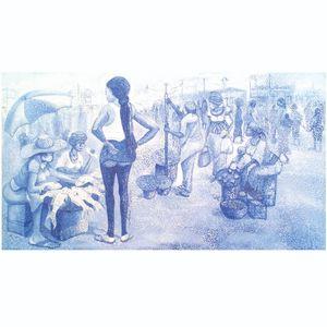 A Lady At Market
