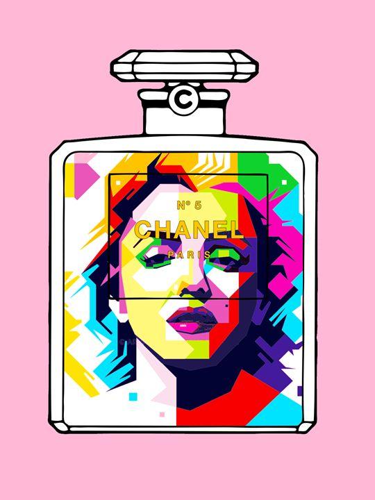 Marilyn Monroe Triangle Portrait Cha - timgaskin