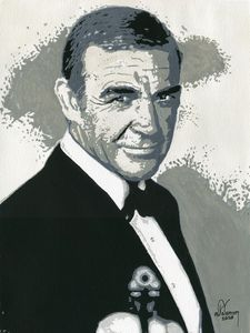 Sean Connery the original James Bond