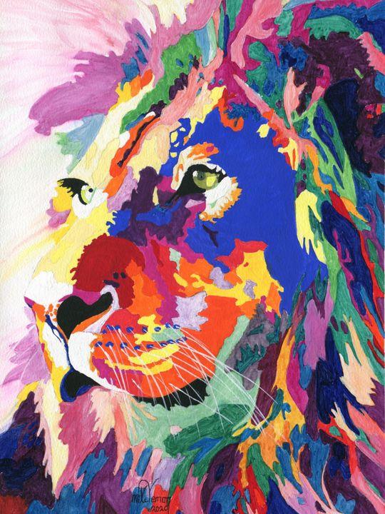 Lion Colours - Mike Vernon Art