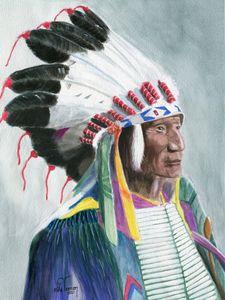 Sioux Chief Broken Arm