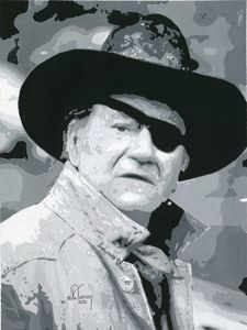 John Wayne as 'Rooster Cogburn'