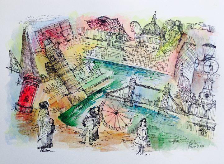 Behind the city - Cinzia