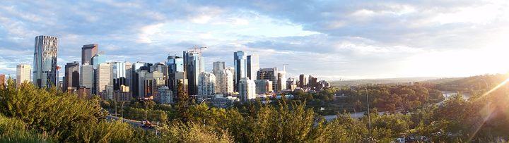 Calgary Skyline - Joel Elvers