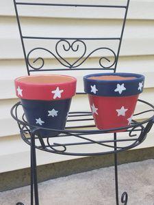 Star Spangles Pots