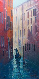 "Oil painting ""Venice"""