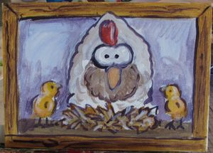 Whimsical Chicken