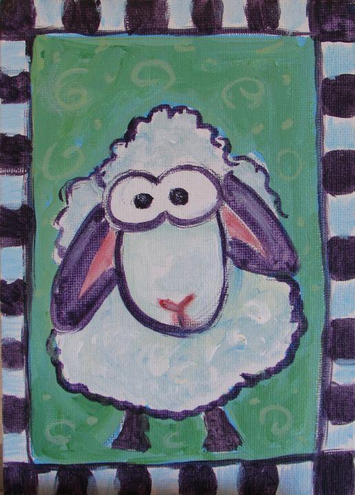 Whimsical Lamb - Melissa McDonald