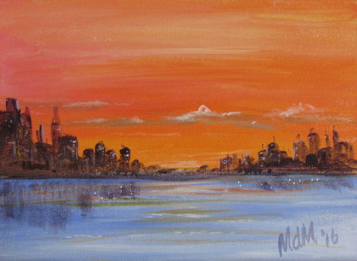 City Sunset - Melissa McDonald