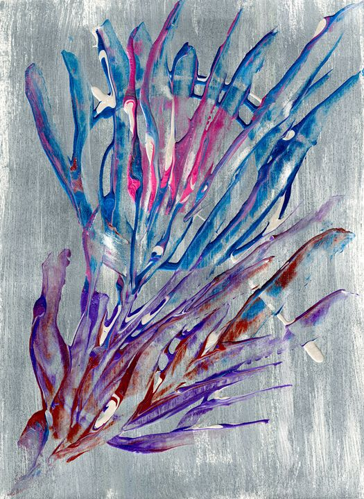 Abstract Dream Catcher - Artworks by John Bruno