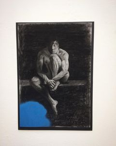 Contemplation of Blue