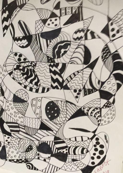 """""""Black and White"""" - karenkaback"""