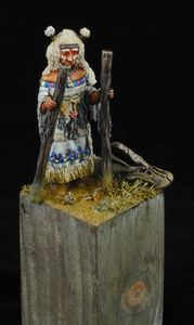 White Woman of The Arapaho Tribe