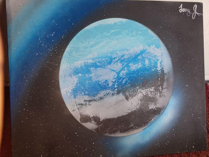 BlueNight Moon - Terry's art