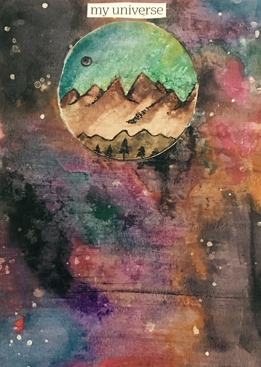 My Universe - Hailfeatherart