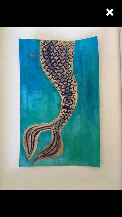 Mermaid Tail - Hailfeatherart
