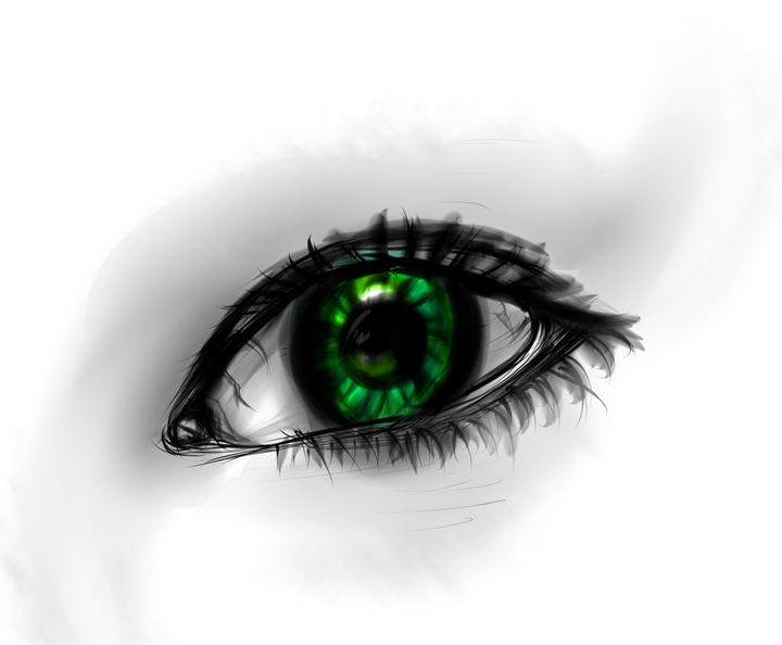 Forest eye - Invisible-angel-art