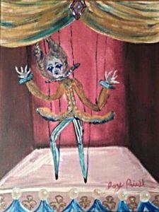 Caravan puppet show