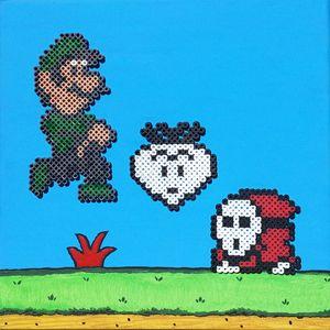 Luigi & A Shy Guy