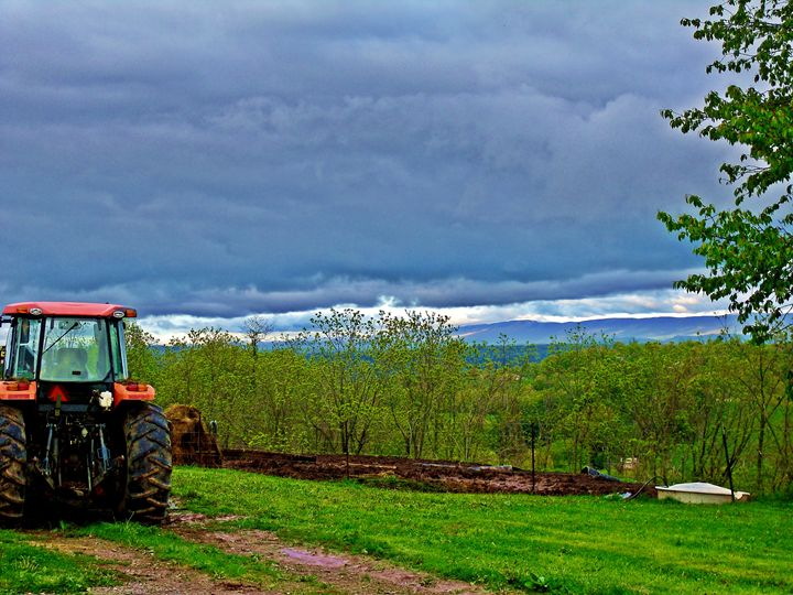 Farm Clouds - Paul Lubaczewski