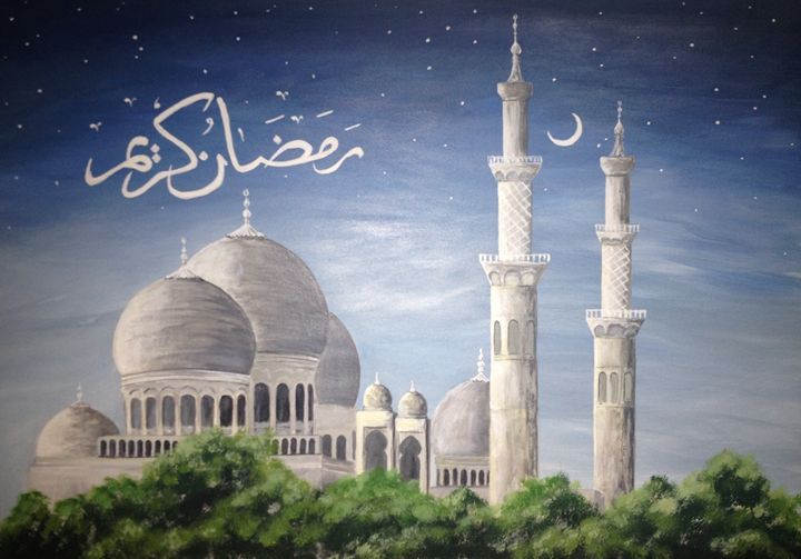 Ramadan mosque - Anna Chernysh