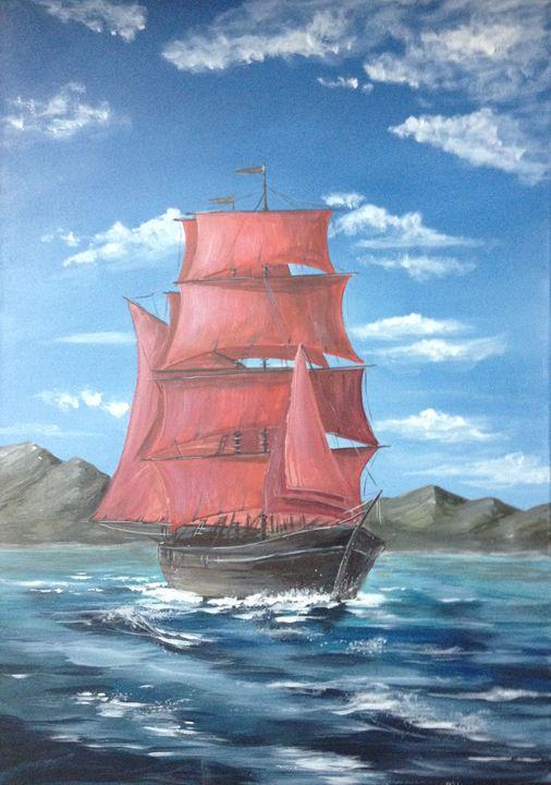 Red Sails - Anna Chernysh