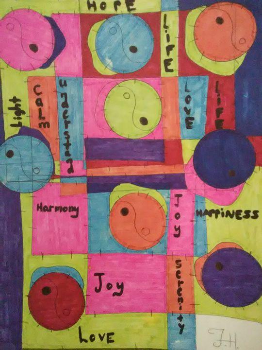 Abstract Joy $30 - Spirit Walker