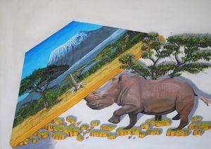 palyfull rhinoceros