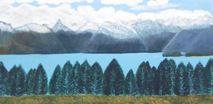 Lake Tekapo South Island New Zealand - My Art Travels