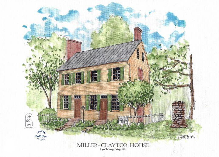 Miller-Claytor House - Lynchburg - Buster Bone