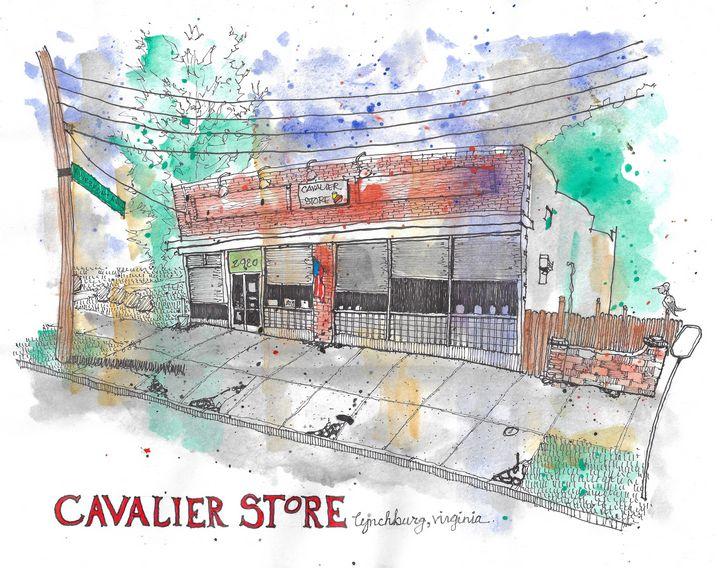 The Cavalier Store, Lynchburg, VA - Buster Bone