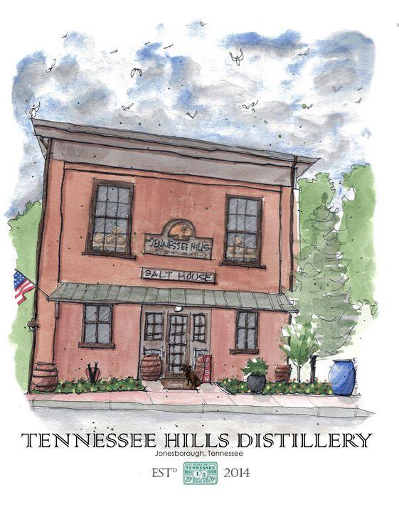 Tennessee Hills Distillery - Buster Bone