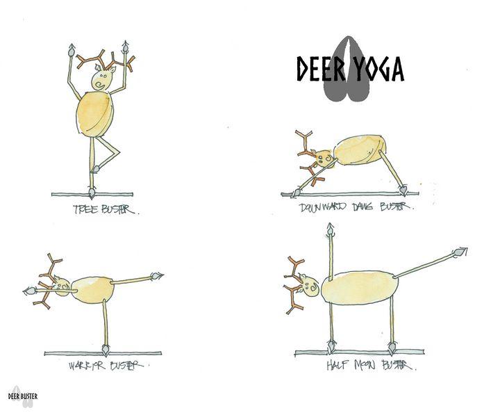 Deer Yoga - Buster Bone