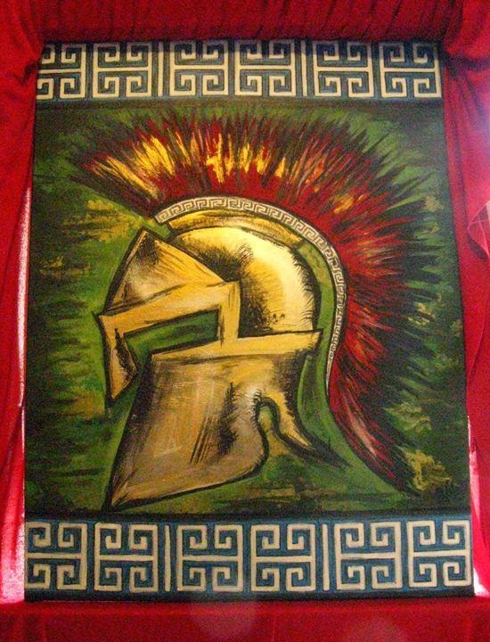 Spartan Helmet - vibrantcolour