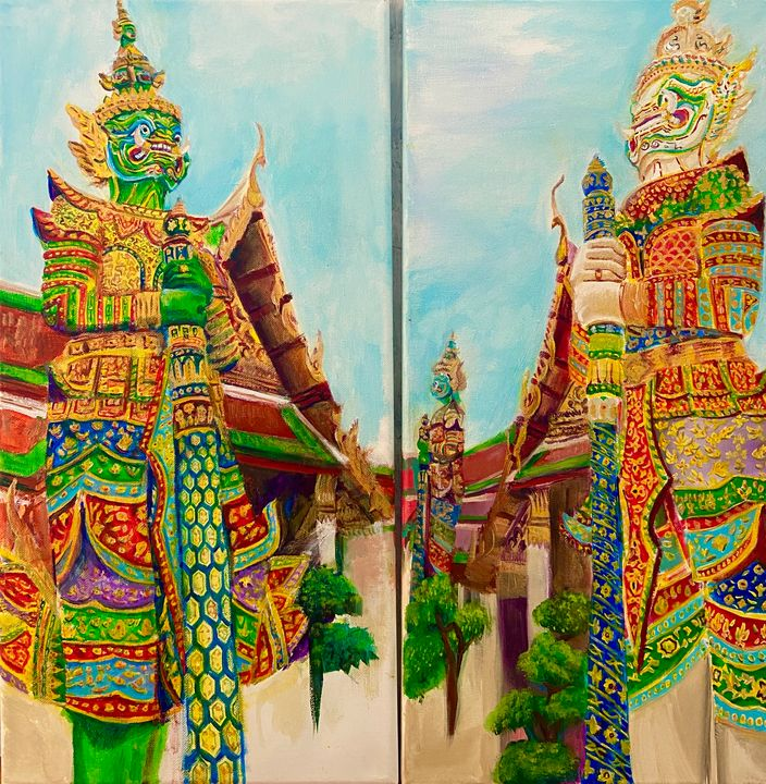 guardian diptych - Val's Perspective