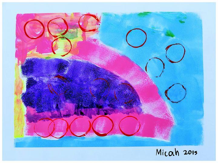 Roller Skate Fun - Micah's Art