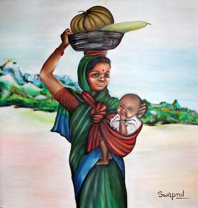 Vegetable Seller - Swapnil