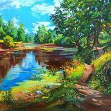 canvas oil original painting