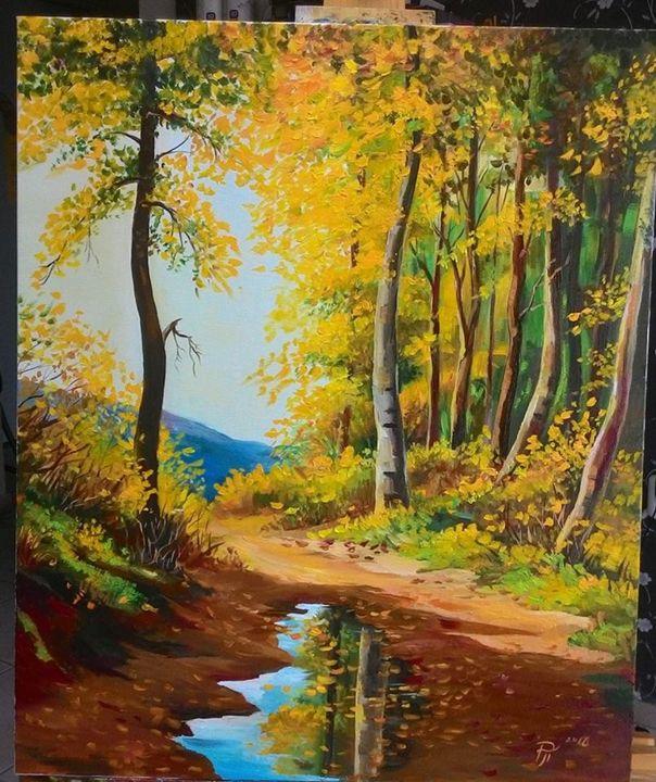 Autumn landscape - Ralitsa Petrova