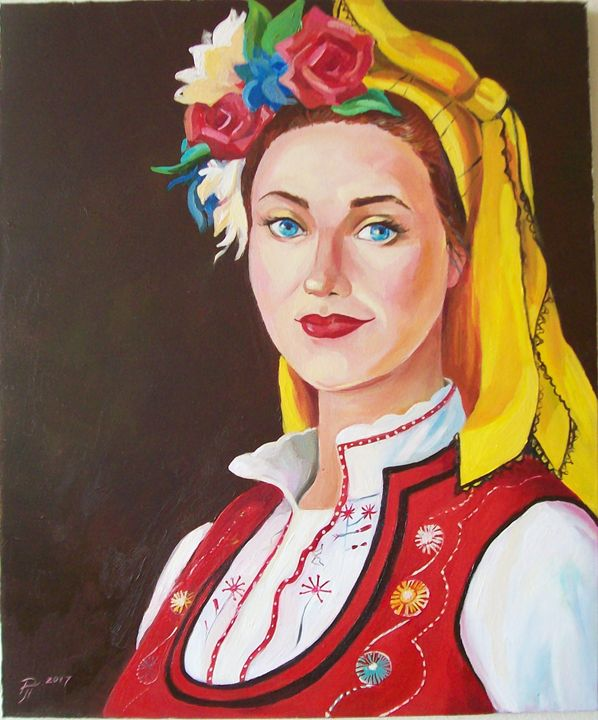 Bulgarian woman - Ralitsa Petrova