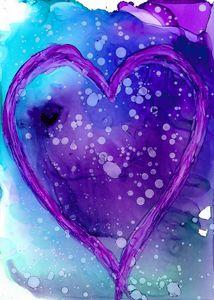 Purple Heart Card