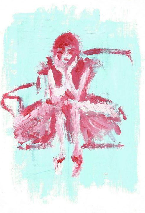 girl in Paris - C art