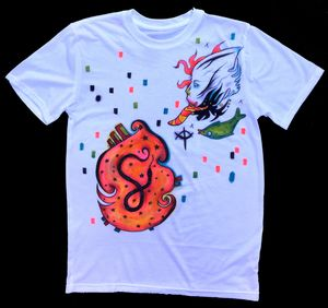 Snake stomach shirt